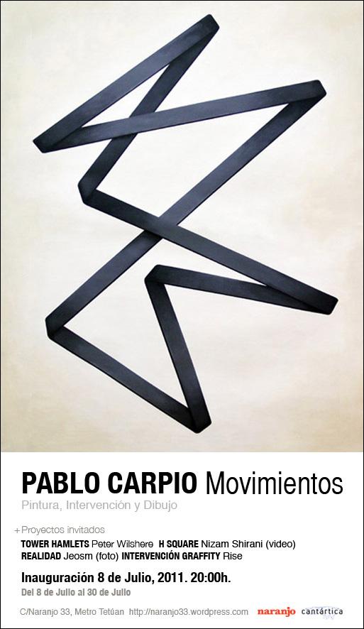"""Movimientos"" M01. Pablo Carpio, 2011."