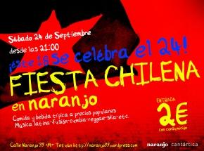 Fiesta Chilena en Naranjo