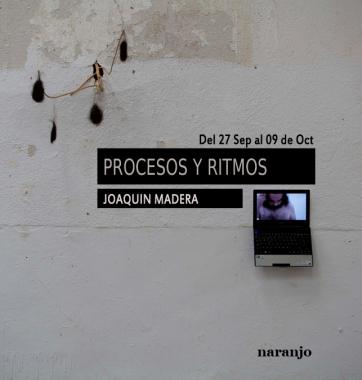 Procesos y ritmos flyer