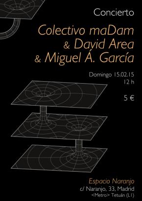 concierto-maDam&davidarea&mikel